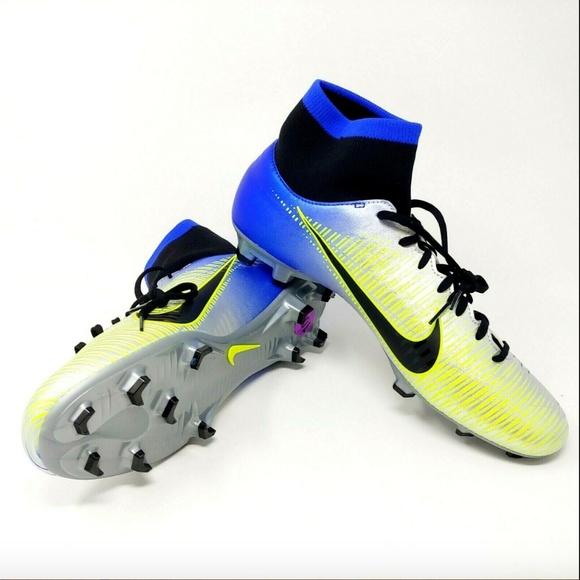 wholesale dealer be707 eaa1d Nike Mercurial Victory VI DF FG NJR Neymar Cleats NWT